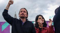 Pablo Iglesias e Isa Serra. (Foto: EP)