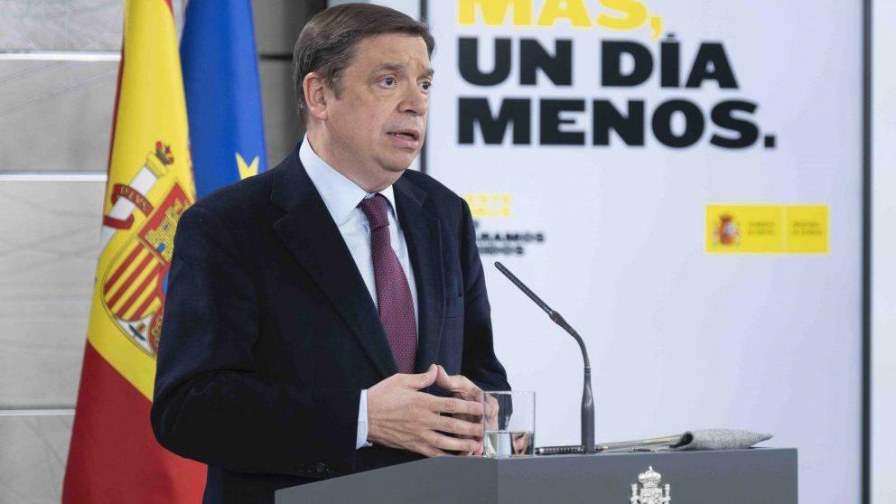 Rueda de prensa de María Jesús Montero y Luis Planas tras el Consejo de Ministros