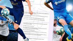 La AFE ha realizado cinco preguntas a los futbolistas sobre el regreso de la competición.