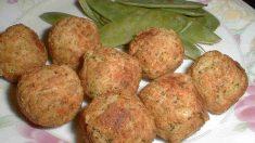 Receta de Croquetas de garbanzos con huevo y jamón