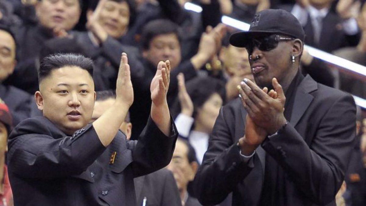 Kim Jong-un y Dennis Rodman, durante uno de sus encuentros.
