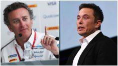 Alejandro Agag y Elon Musk, los líderes del futuro del mundo del coche eléctrico.