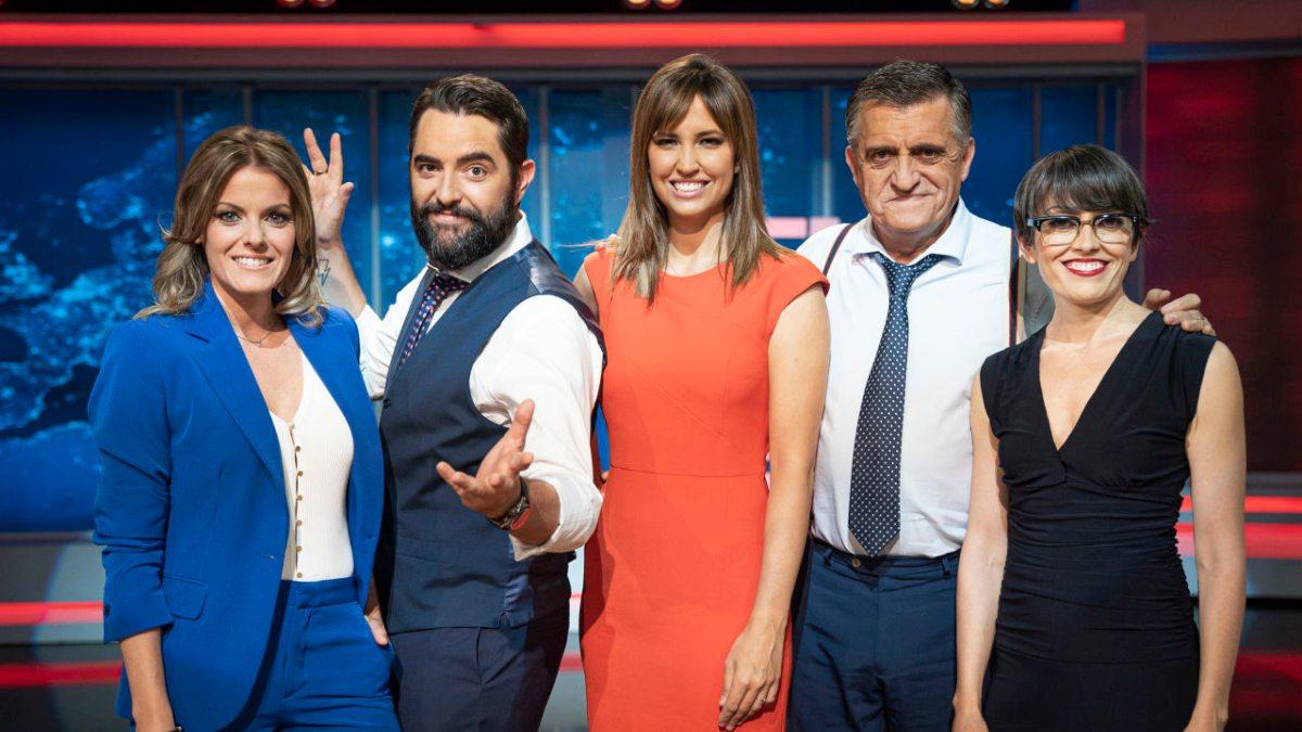 Los presentadores de 'El Intermedio'