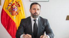 El presidente de Vox, Santiago Abascal. Foto: EP