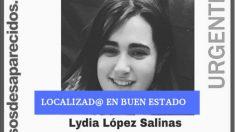 Lydia López encontrada en Murcia