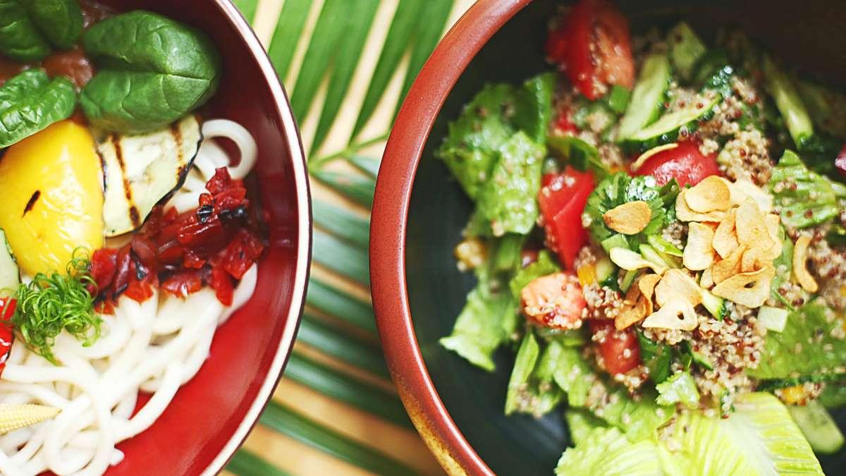 Una buena ensalada es básica en la alimentación
