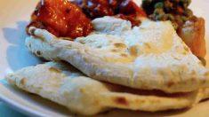 Receta fácil para hacer pan sin horno_ pan Naan indio