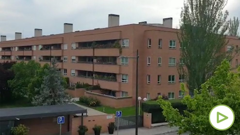 Cacerolada contra el Gobierno en Pozuelo de Alarcón (Madrid).