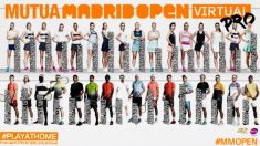 Participantes del Mutua Madrid Open Virtual Pro 2020