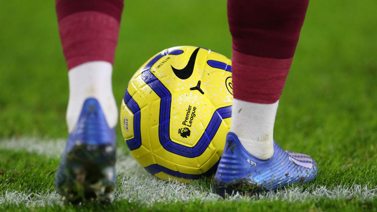 Una imagen del balón de la Premier League. (Getty)
