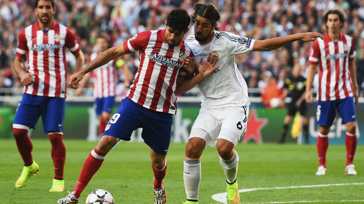 Diego Costa durante la final de la Champions 2014. (Getty)