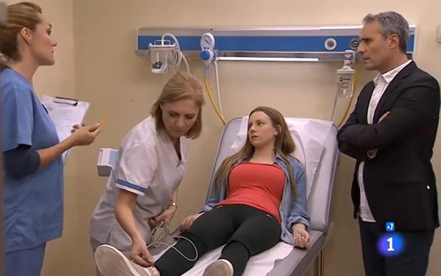 Ester Expósito repitió en otro capítulo de la serie 'Centro Médico'