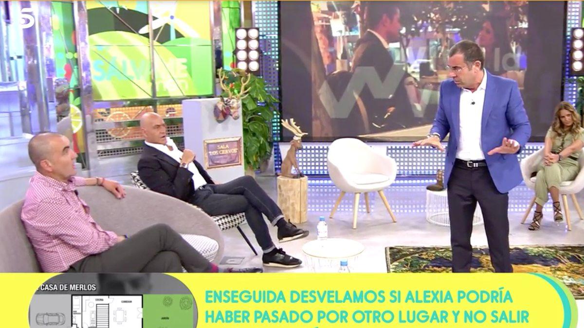 Jorge Javier se encara con Antonio Montero en 'Sálvame'