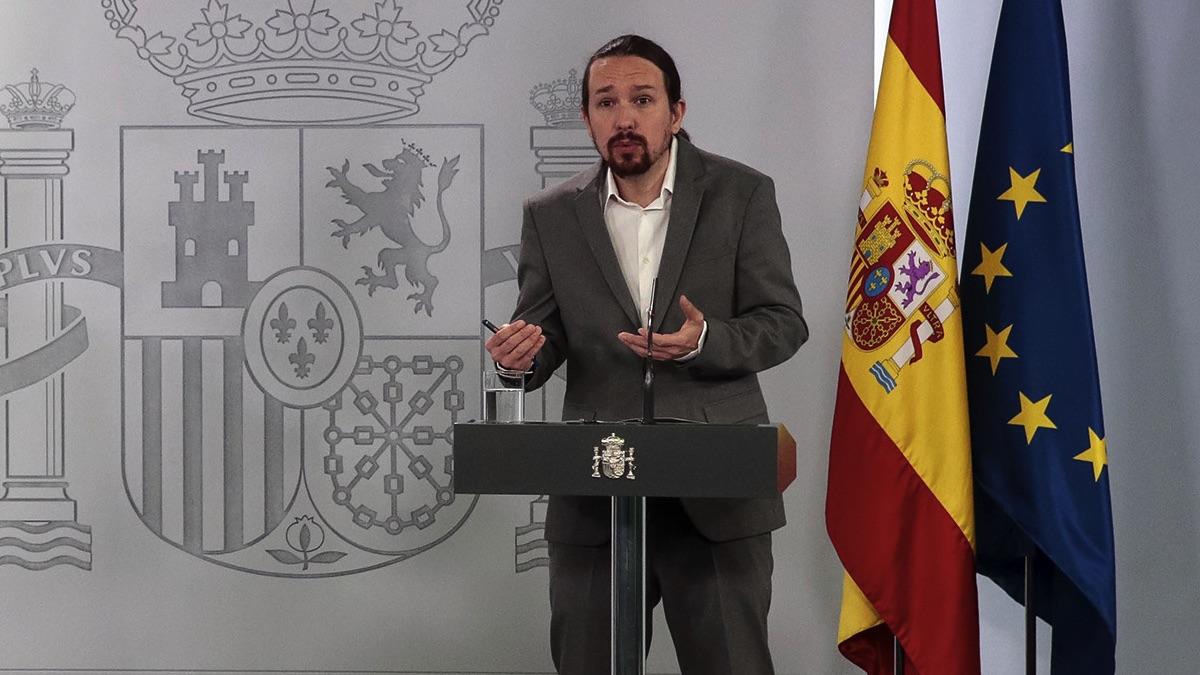 Pablo Iglesias, vicepresidente segundo de Derechos Sociales (Foto: Moncloa)