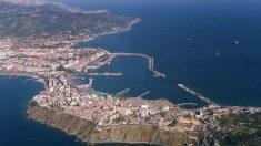 Vista aérea de Ceuta. Foto: EP