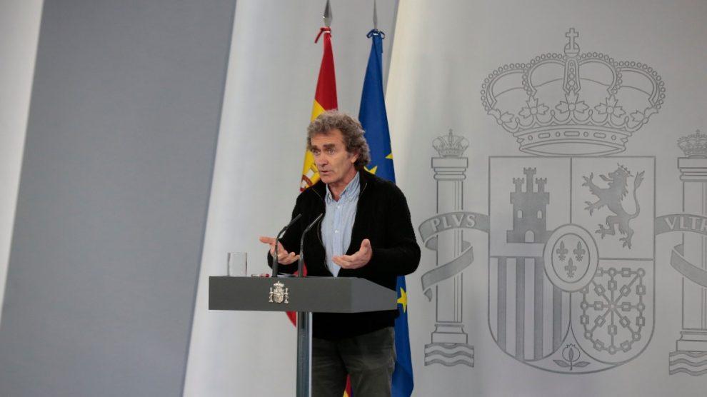 El director del Centro de Coordinación de Alertas y Emergencias Sanitarias, Fernando Simón. Foto: EP
