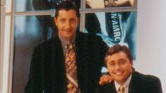 Pedrerol y Robinson, cuando eran compañeros en 'El Día Después' (Canal+).