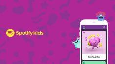 Descubre cómo los niños se pueden divertir con Spotify Kids