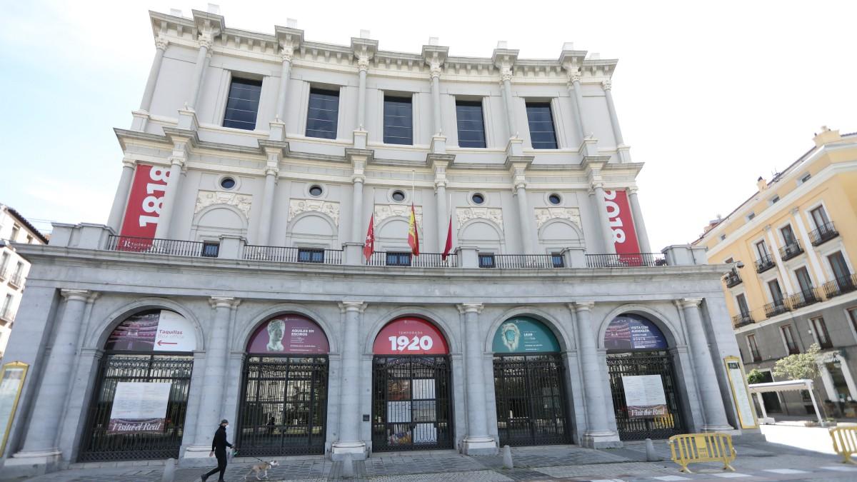 Imagen del Teatro Real, en Madrid – Marta Fernández Jara – Europa Press