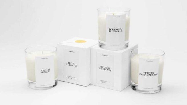 velas aromáticas de zara