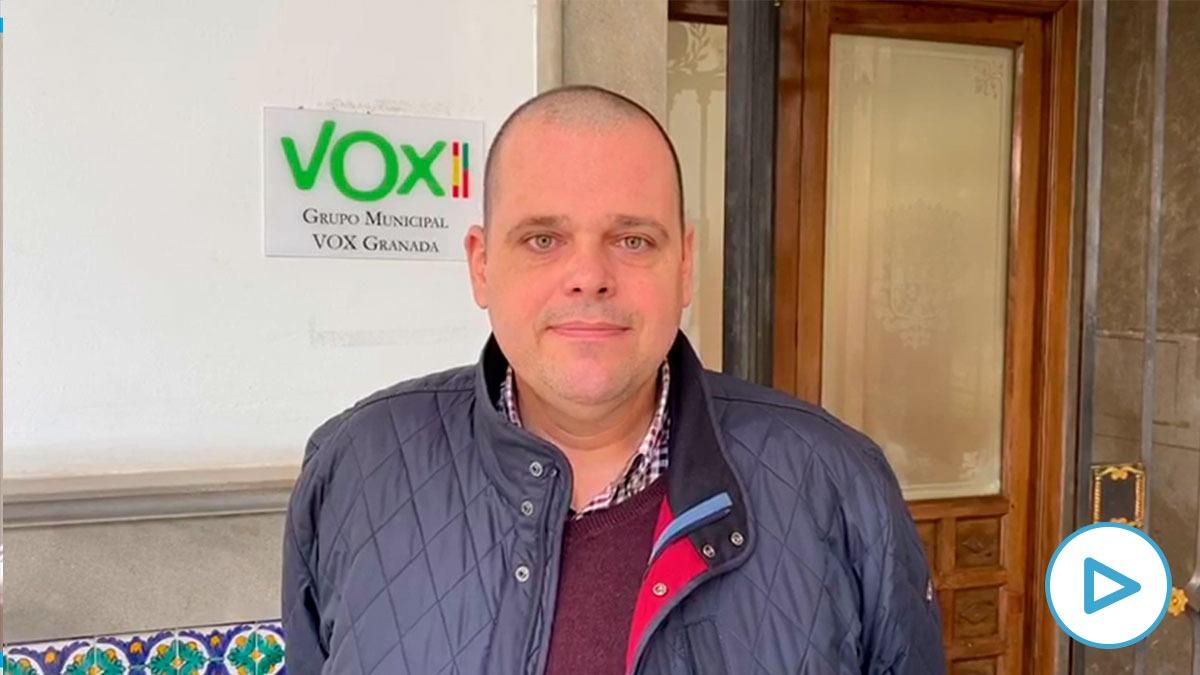 Onofre Miralles, portavoz del Ayuntamiento de Granada.