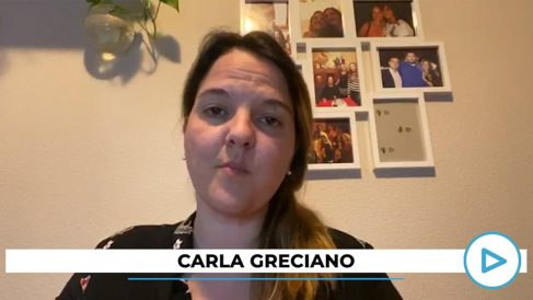Carla Greciano, Carla Greciano, portavoz del PP de Galapagar.