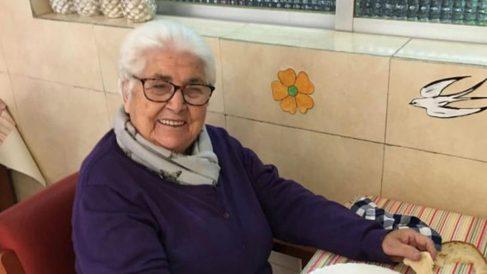 La bisabuela de Cesc Fábregas. (@cescf4bregas)