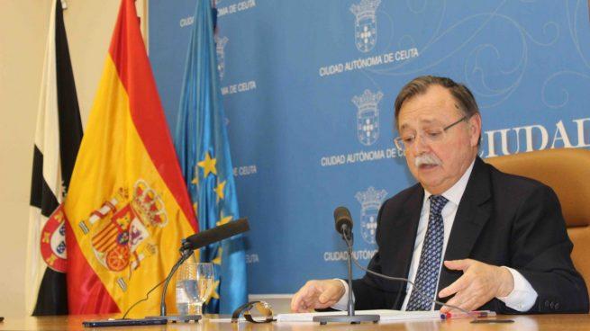 El presidente de la Ciudad de Ceuta, Juan Vivas (PP).