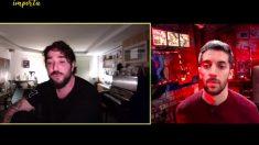 David Broncano entrevista por videollamada a Antonio Orozco