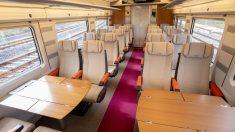 El interior el AVLO, el futuro tren low cost de Renfe