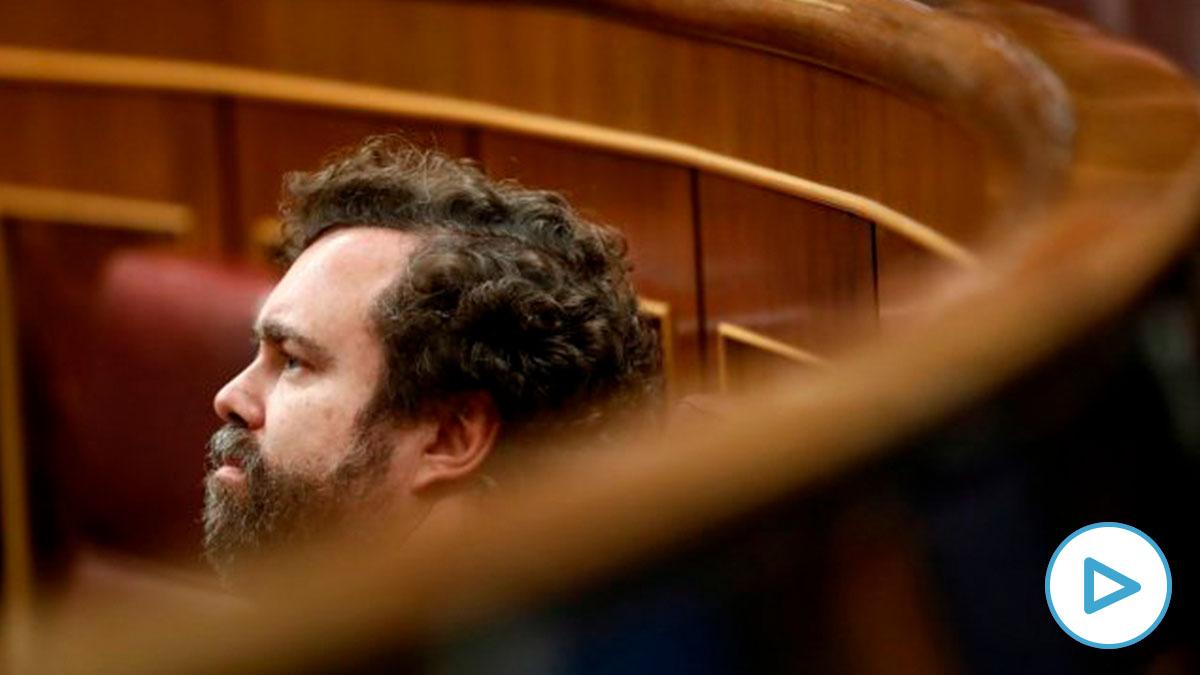 El portavoz de Vox, Iván Espinosa de los Monteros en el Congreso – Pool