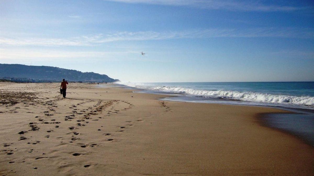 Playas vacías por el coronavirus