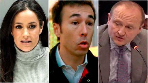 La vicealcaldesa Begoña Villacís; el director general de Mercamadrid, David Chica, y el concejal de Economía, Miguel Ángel Redondo.