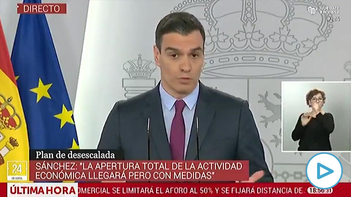 Las redes sociales se mofan del doctor en Economía Pedro Sánchez por hablar de «trillones de euros».