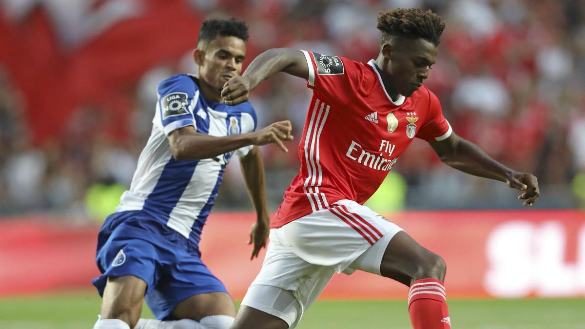 Imagen de un partido entre el Benfica y el Oporto. (EuropaPress)