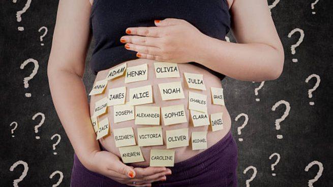 nombre del bebé