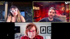 David Broncano entrevista por videollamada a María Teresa Campos