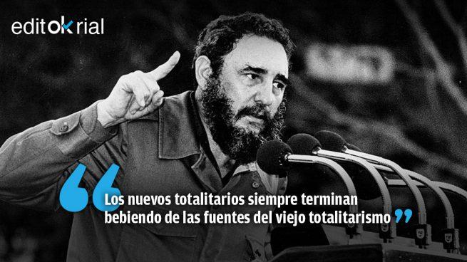 Iglesias plagia al asesino Fidel Castro: sólo le faltó el chándal