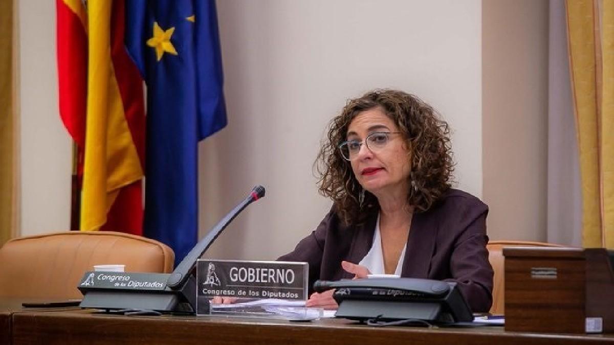 María Jesús Montero, portavoz del Gobierno y ministra de Hacienda. (Foto: Europa Press).