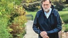 Mariano Rajoy se salta el confinamiento