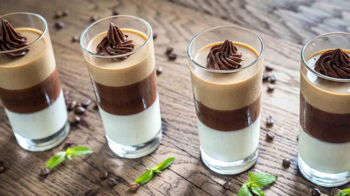 Receta de postrecitos budini de leche condensada y cacao