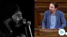 Fidel Castro y Pablo Iglesias
