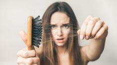 La caída del cabello es muy habitual en situaciones de estrés