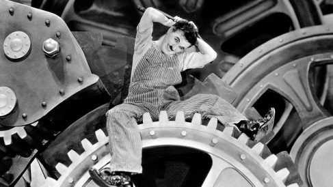 Tiempos Modernos, de Charlie Chaplin