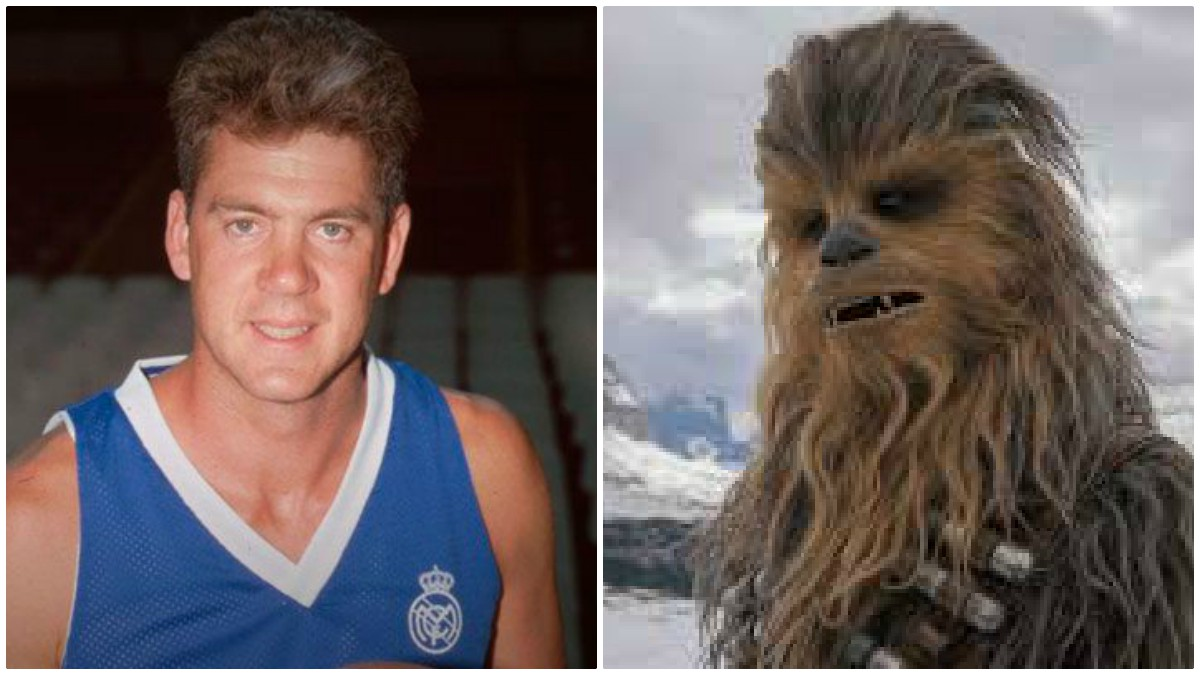 McNamara jugó en el Real Madrid y en el equipo de Star Wars.