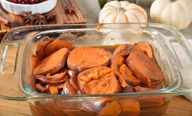 Receta de crema de boniato y zanahoria