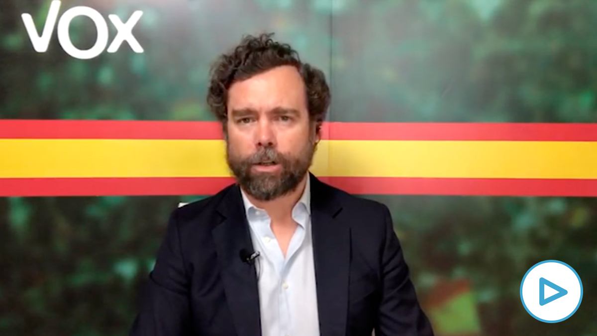 Iván Espinosa de los Monteros, portavoz  parlamentario de Vox.