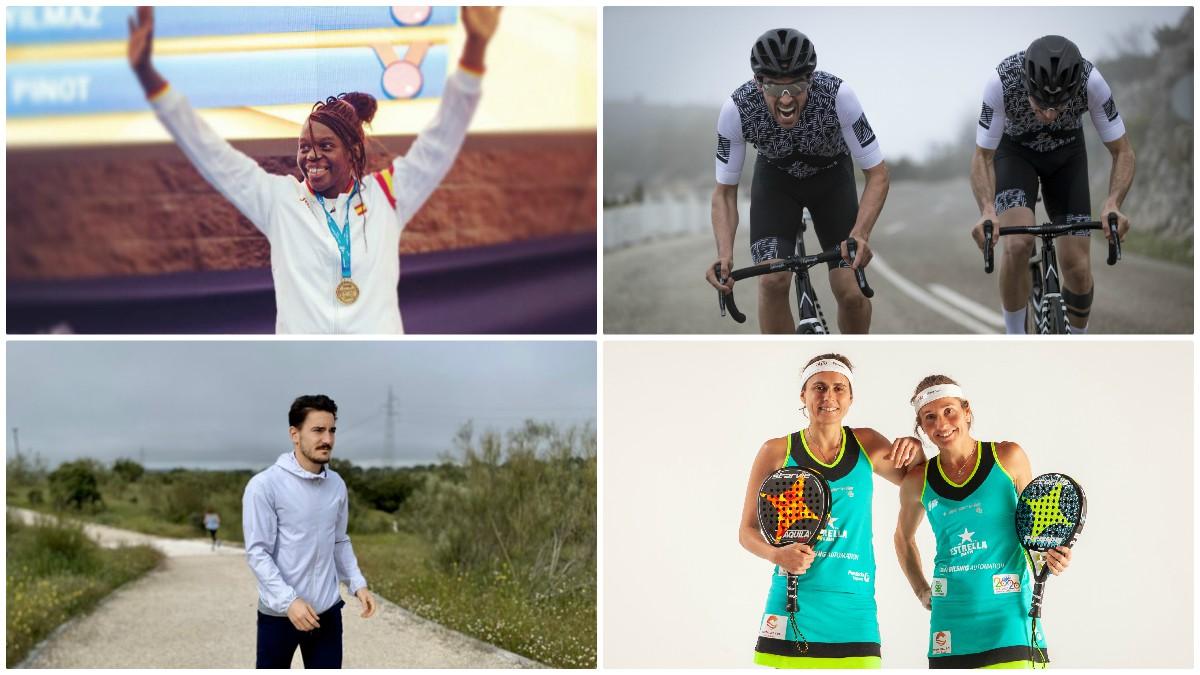 Los deportistas españoles retoman la actividad deportiva.