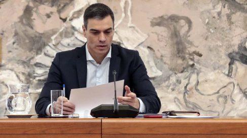 Pedro Sánchez, presiente del Gobierno. Foto: EFE