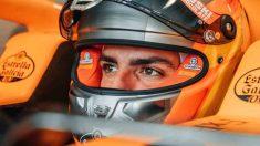 Carlos Sainz con el McLaren. (@Carlossainz55)